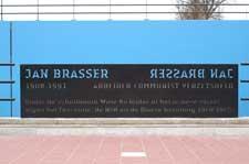 Jan Brasser tunnel verbindt Krommenie met Saendelft (Assendelft)