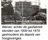 Gashouders als depot voor Hoogovengas