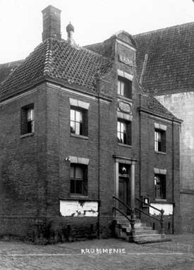 Regtshuys Krommenie, omstreeks 1900